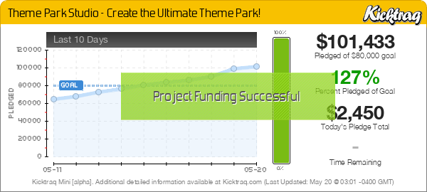 Theme Park Studio - Create the Ultimate Theme Park! -- Kicktraq Mini