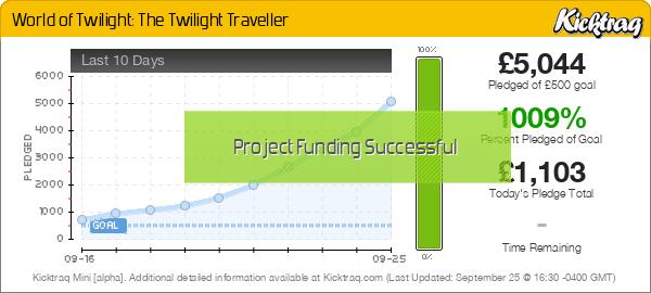 World of Twilight: The Twilight Traveller -- Kicktraq Mini