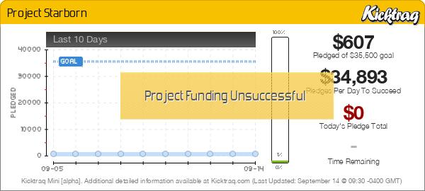 Project Starborn -- Kicktraq Mini