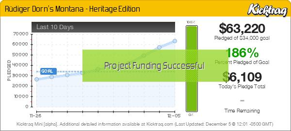 Rüdiger Dorn's Montana - Heritage Edition - Kicktraq Mini