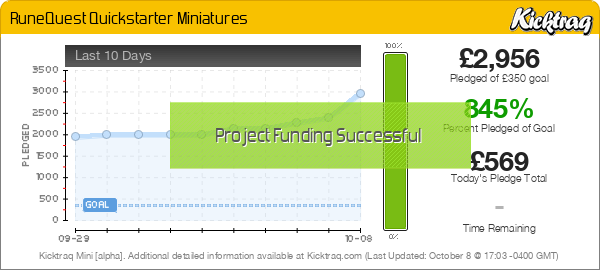 Runequest - Official Miniatures - Kicktraq Mini