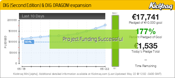DIG (Second Edition) & DIG: DRAGON! expansion - Kicktraq Mini