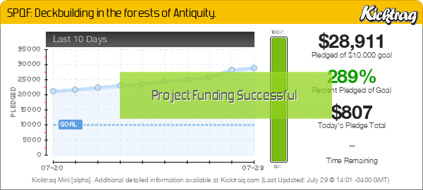 SPQF: Deckbuilding in the forests of Antiquity. -- Kicktraq Mini