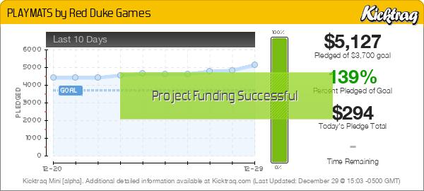 PLAYMATS by Red Duke Games - Kicktraq Mini
