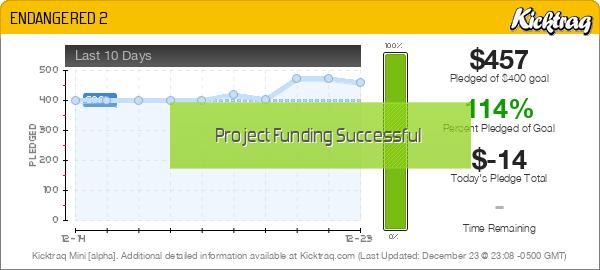 ENDANGERED 2 - Kicktraq Mini