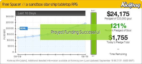 Free Spacer // a sandbox starship tabletop RPG -- Kicktraq Mini