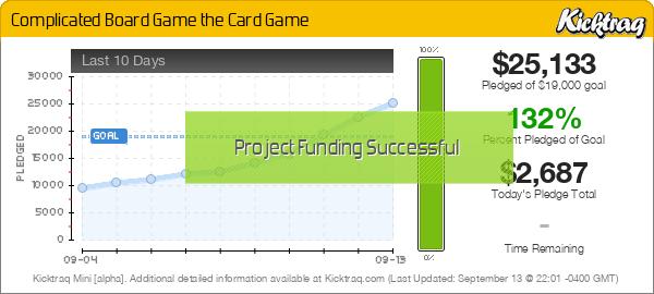 Complicated Board Game the Card Game -- Kicktraq Mini