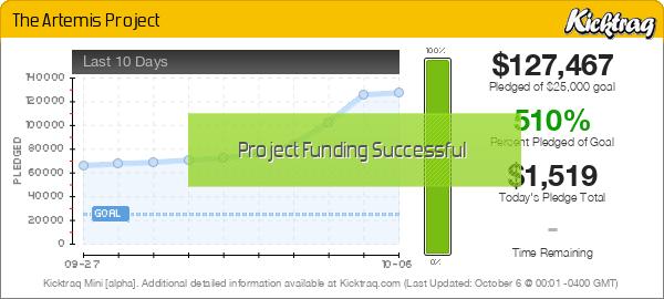 The Artemis Project -- Kicktraq Mini