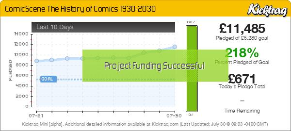 ComicScene The History of Comics 1930-2030 -- Kicktraq Mini