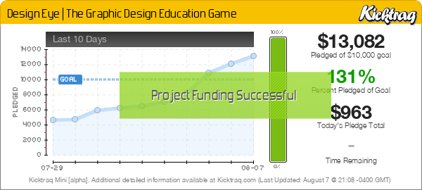Design Eye | The Graphic Design Education Game - Kicktraq Mini