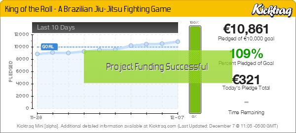 King of the Roll - A Brazilian Jiu-Jitsu Fighting Game - Kicktraq Mini