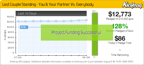 Last Couple Standing - You & Your Partner Vs. Everybody - Kicktraq Mini