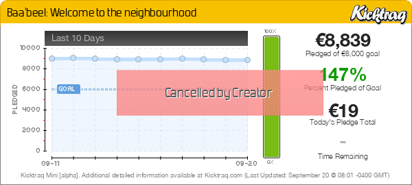 Baa'beel: Welcome to the neighbourhood -- Kicktraq Mini