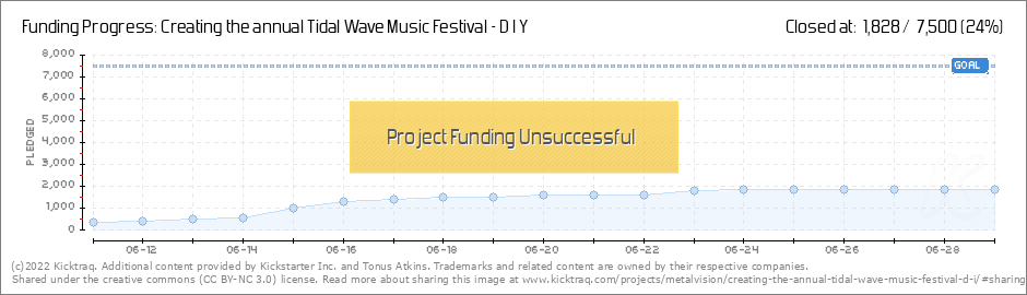 Creating the annual Tidal Wave Music Festival - D I Y by