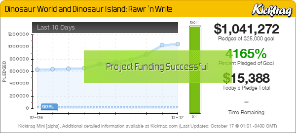 Dinosaur World and Dinosaur Island: Rawr 'n Write - Kicktraq Mini