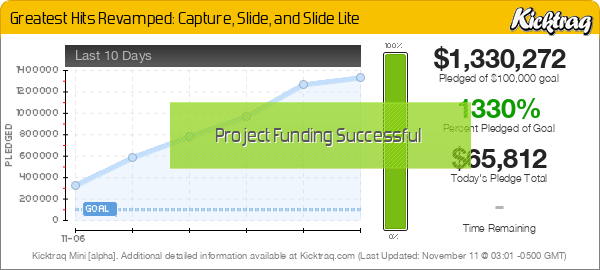 Greatest Hits Revamped: Capture, Slide, and Slide Lite -- Kicktraq Mini