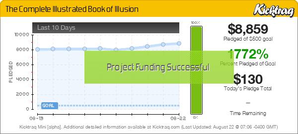 The Complete Illustrated Book of Illusion - Kicktraq Mini
