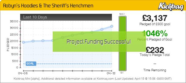 Robyn's Hoodies & The Sheriff's Henchmen - Kicktraq Mini