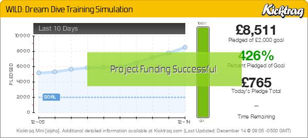 WILD: Dream Dive Training Simulation -- Kicktraq Mini