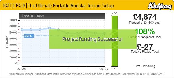 BATTLEPACK | The Ultimate Portable Modular Terrain Setup - Kicktraq Mini