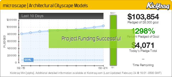 microscape | Architectural Cityscape Models -- Kicktraq Mini